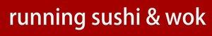 Running Sushi & Wok logo | Ljubljana-Rudnik | Supernova